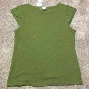 J. By J. Crew Green Blouse